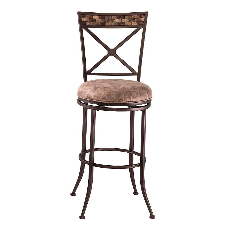 Hillsdale Furniture Compton Swivel Counter Stool