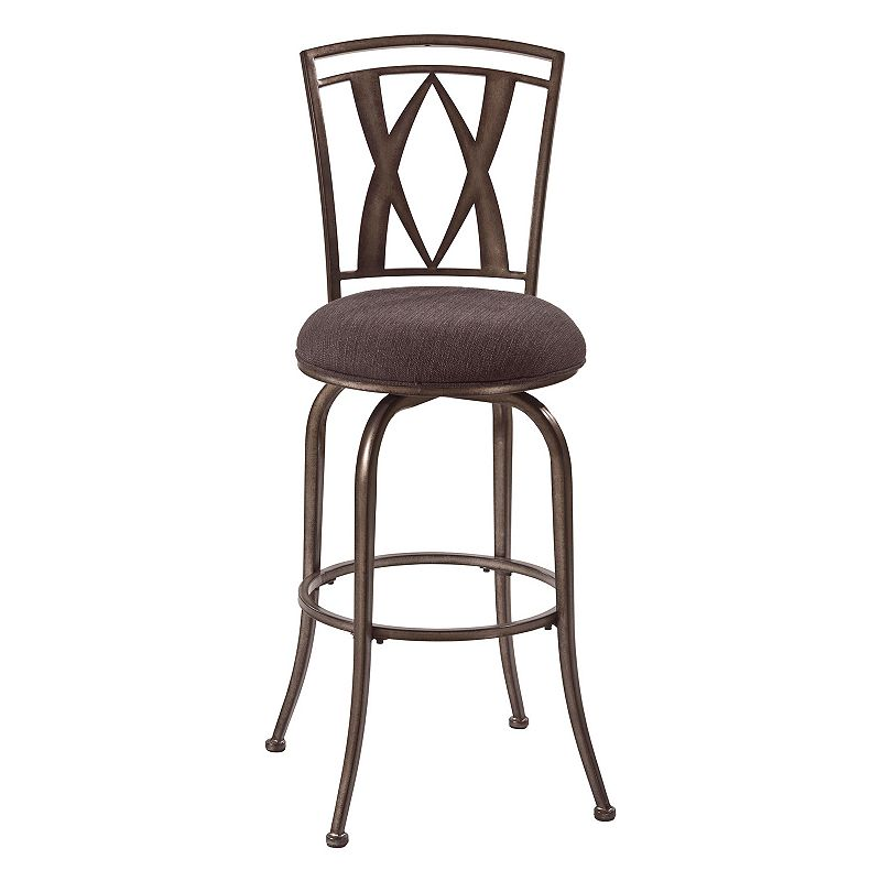 Hillsdale Furniture Crossgate Swivel Bar Stool