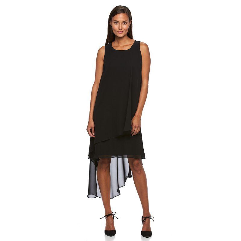 Women's Sharagano Chiffon Layered Shift Dress