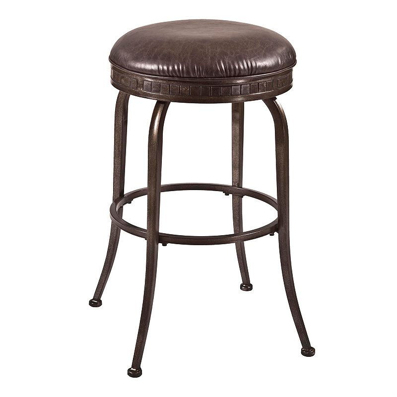 Hillsdale Furniture Harper Backless Swivel Counter Stool