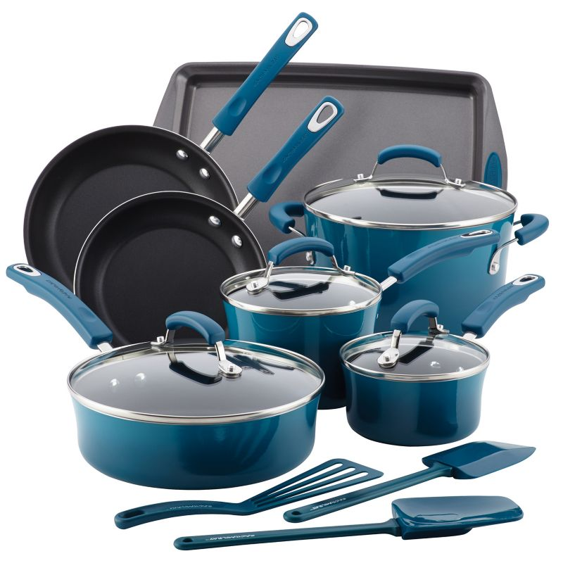 Blue Pan Cookware Set Kohl S