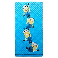 Minions Mayhem Bath Towel