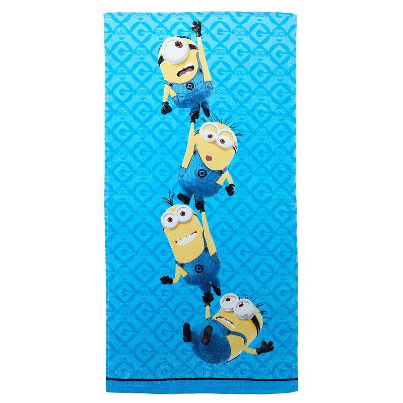 Minions Mayhem Bath Towel