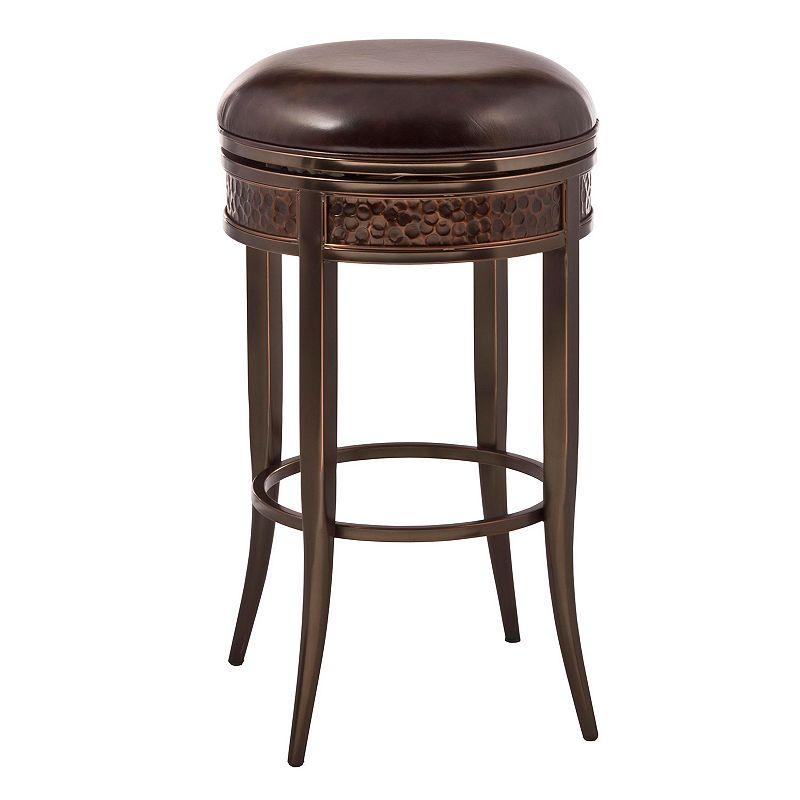 Hillsdale Furniture Parkside Backless Swivel Bar Stool