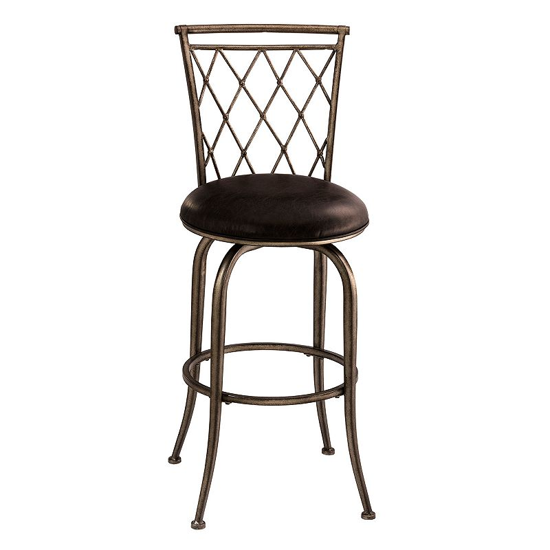 Hillsdale Furniture Woodson Swivel Counter Stool