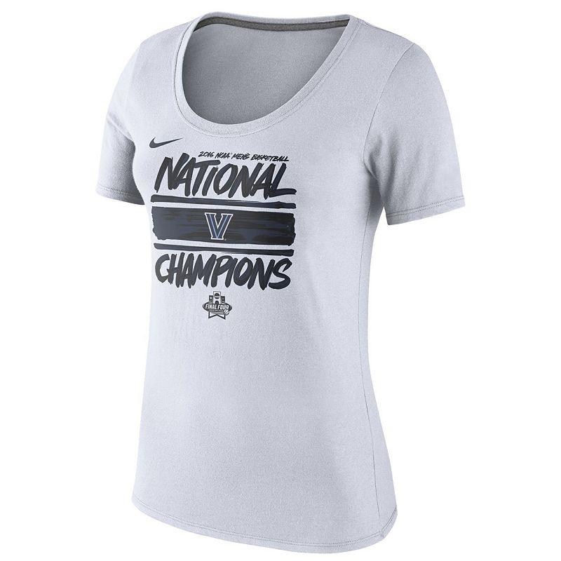 Women's Nike Villanova Wildcats 2016 NCAA Men's Basketball National Champions Locker Room Tee