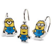 Minions Mayhem 12-pack Shower Curtain Hooks