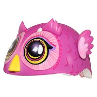 Infant Girl C Preme Raskullz Big-Eyed Owl Pink Bike Helmet