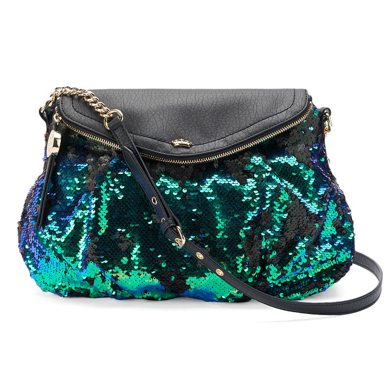 Juicy Couture Sequined Crossbody Bag, Women's, Brt Blue