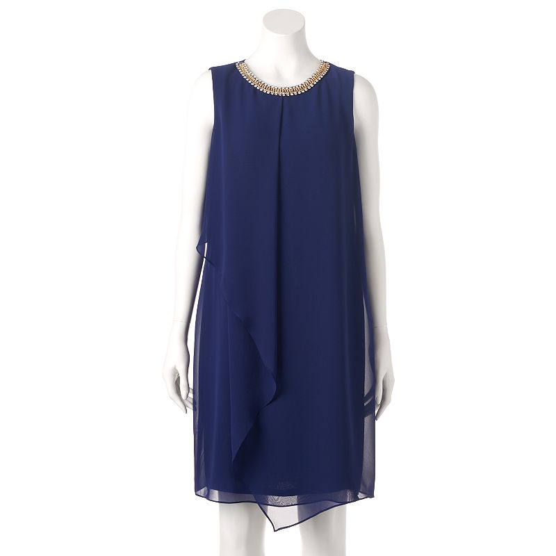 Women's MSK Flutter Shift Dress