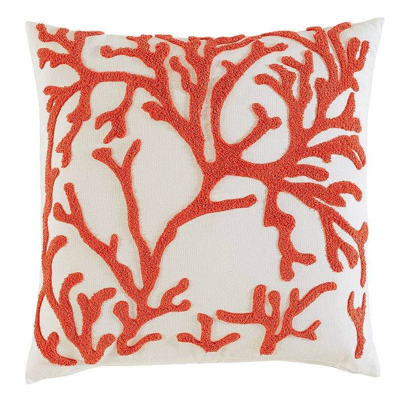 Kohls Nautical Throw Pillows : Coral Outdoor Pillow Kohl s