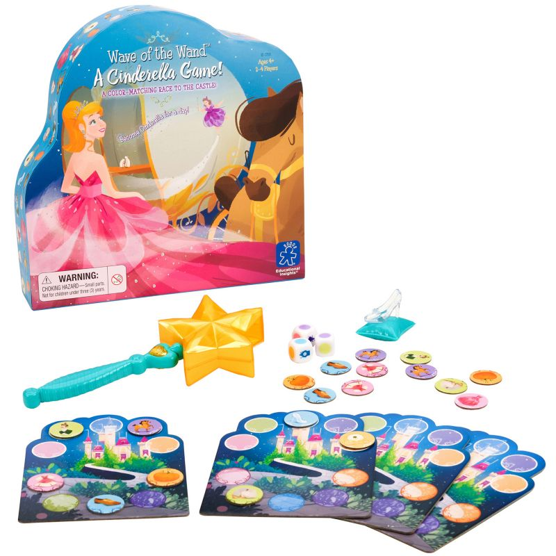 Educational Insights Wave Of The Wand A Cinderella Game, Multicolor thumbnail