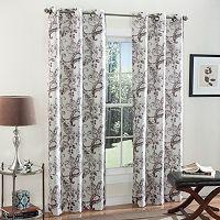m.style 2-pack Batik Blossom Curtains