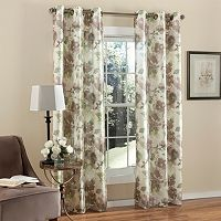 m.style 2-pack Watermark Floral Curtains