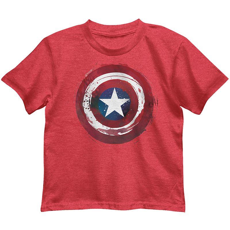 Boys 4-7 Marvel Captain America Shield Graphic Tee