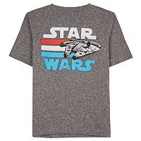 Boys 8-20 Star Wars Millennium Falcon Tee