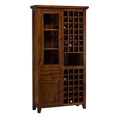 Hillsdale Furniture Tuscan Retreat Tall Wine Storage Cabinet by
