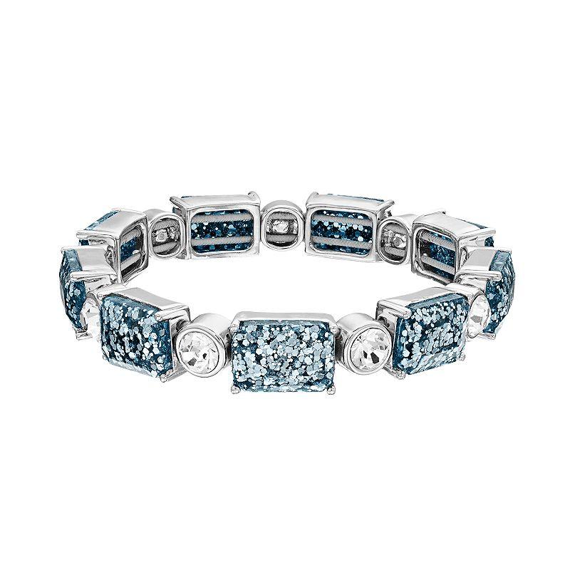 Dana Buchman Glitter Stretch Bracelet