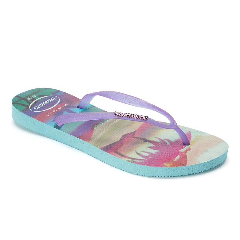 havaianas Women's Patterned Thong Flip-Flops