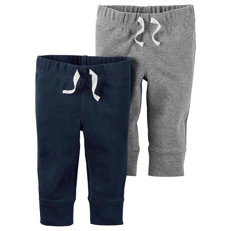 Baby Boy Carter's 2-pk. Solid Jogger Pants