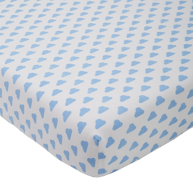 giggle Printed Fitted Crib Sheet