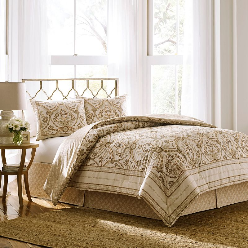 Laura Ashley Lifestyles 4-piece Almeida Bed Set