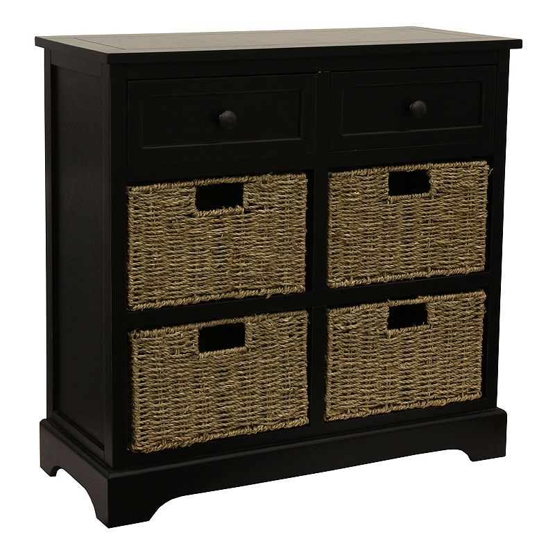 Decor Therapy Montgomery 2-Drawer Storage Cabinet