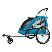 Bell 2-Child Convertible Bike Trailer