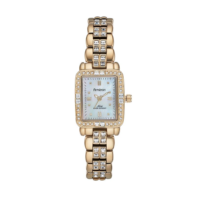 Armitron Women's Crystal Watch - 75/5057MPGP