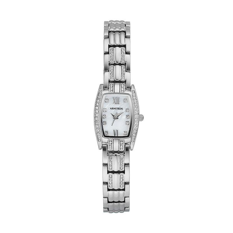Armitron Women's Crystal Watch - 75/5293MPSV