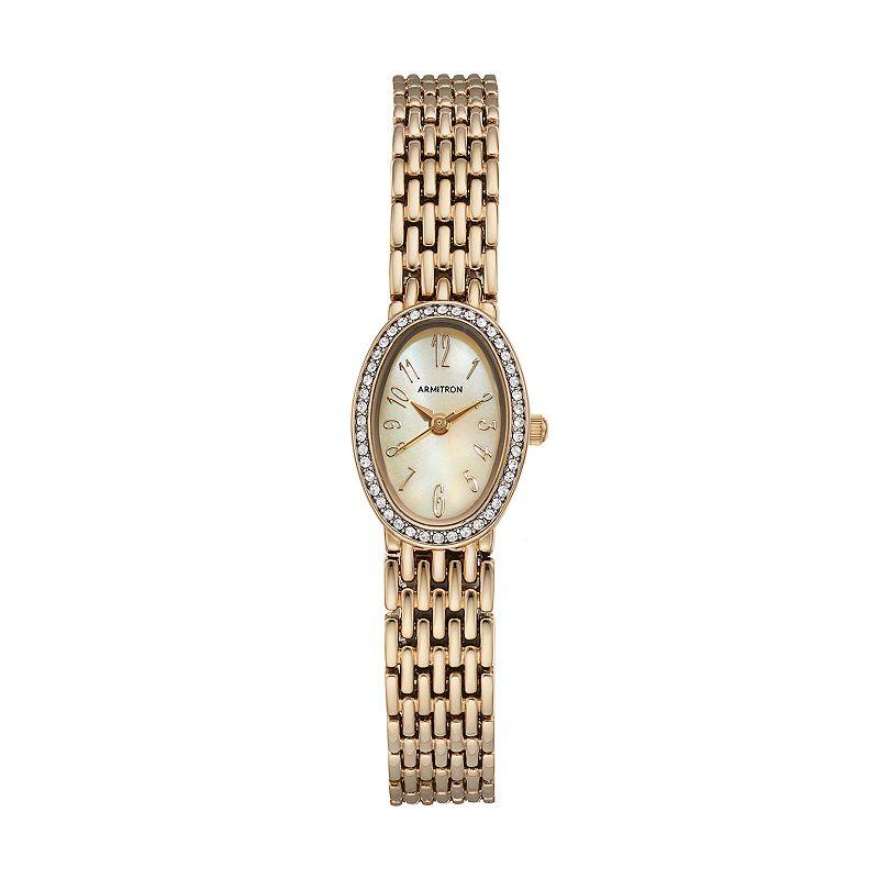 Armitron Women's Crystal Watch - 75/5360CMGP