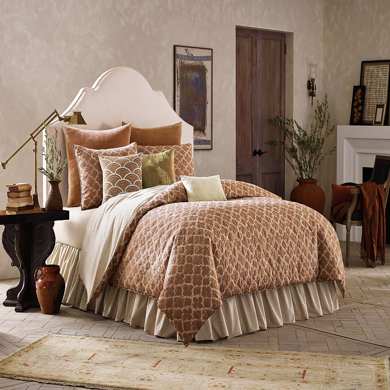 BiniChic Terracotta 4-piece Bed Set
