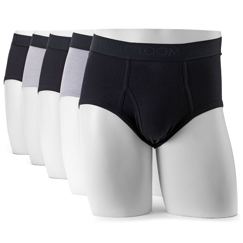 Men's Fruit of the Loom Signature 5-pack Breathable Mid-Rise Briefs