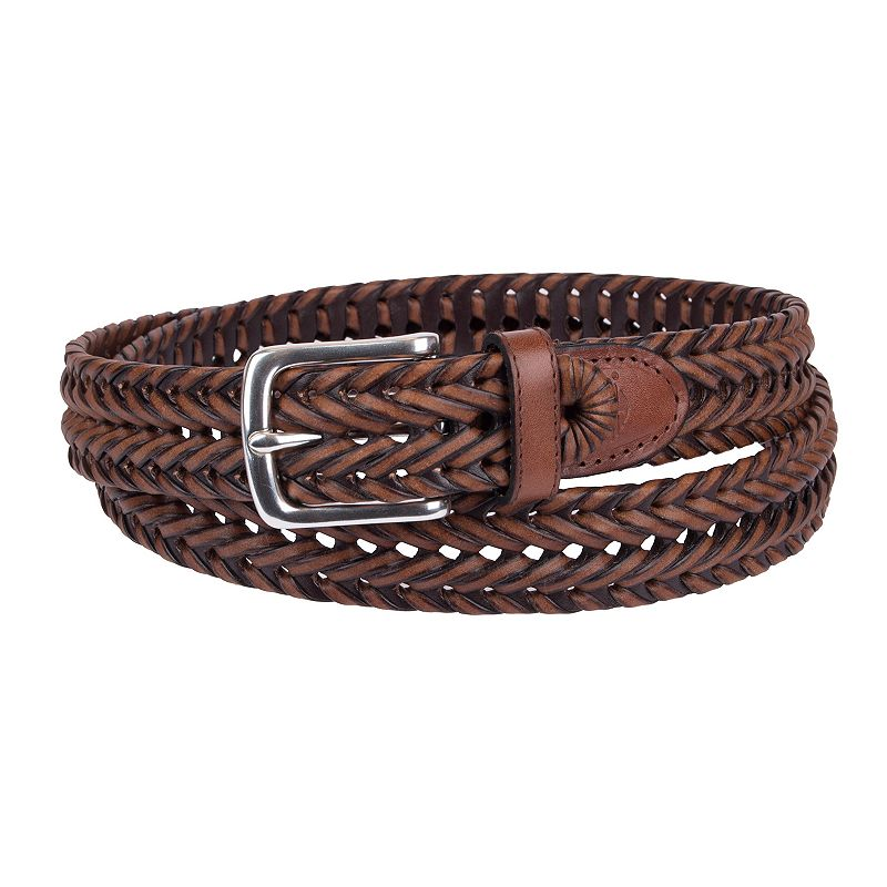 Big & Tall Dockers V-Weave Braided Belt
