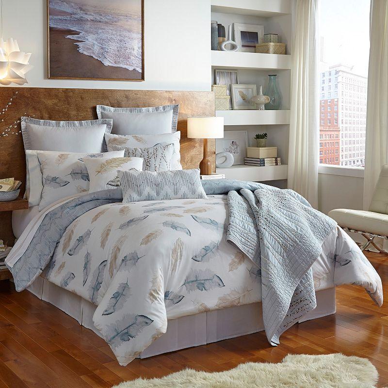 Shell Rummel Feather Reversible Comforter Set