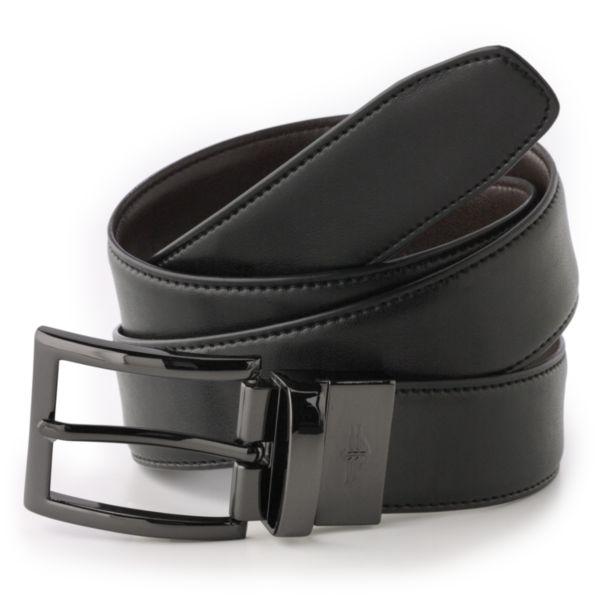 Big & Tall Dockers Reversible Edge Stitch Leather Belt