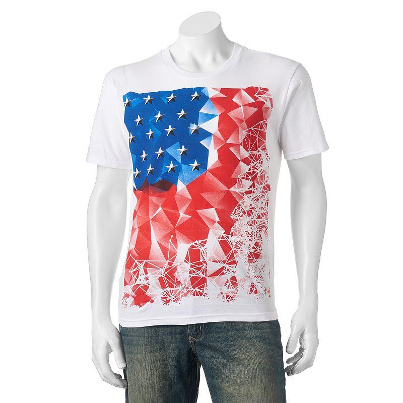 Men's Apt. 9® Americana Flag Tee