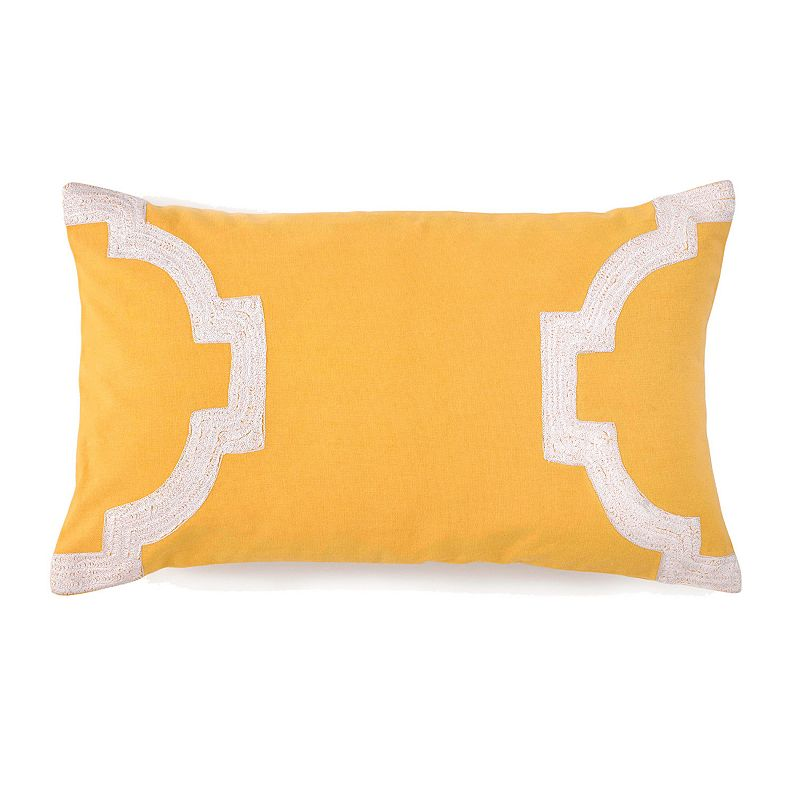 Jill Rosenwald Hampton Links Icon Embroidered Throw Pillow