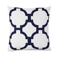 Jill Rosenwald Hampton Links Embroidered Throw Pillow