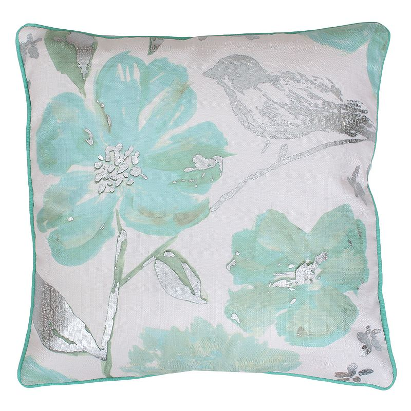 Thro by Marlo Lorenz Alisha Floral Throw Pillow