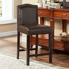 Morgan Nailhead Counter Stool  by