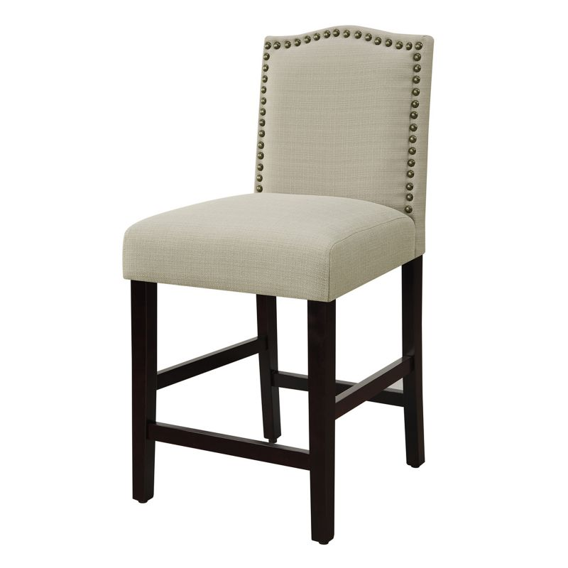 Camelot Nailhead Trim 25 Quot Counter Stool Hardwood