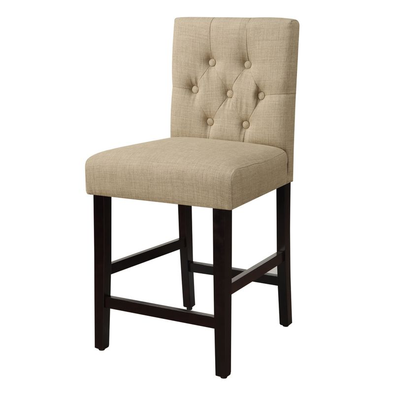 Sterling Tufted 25 Quot Counter Stool Wood Threshold Dealtrend