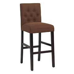 Bella Tufted Bar Stool  by