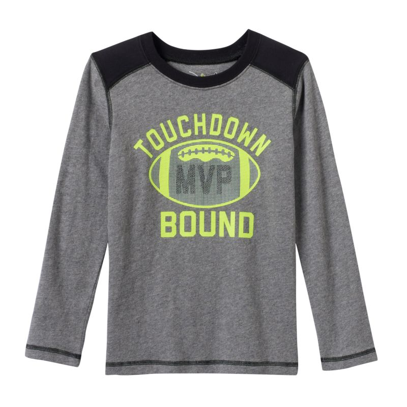Boys 4-7x Jumping Beans Colorblocked Sport Graphic Tee, Boy's, Size: 4, Med Grey