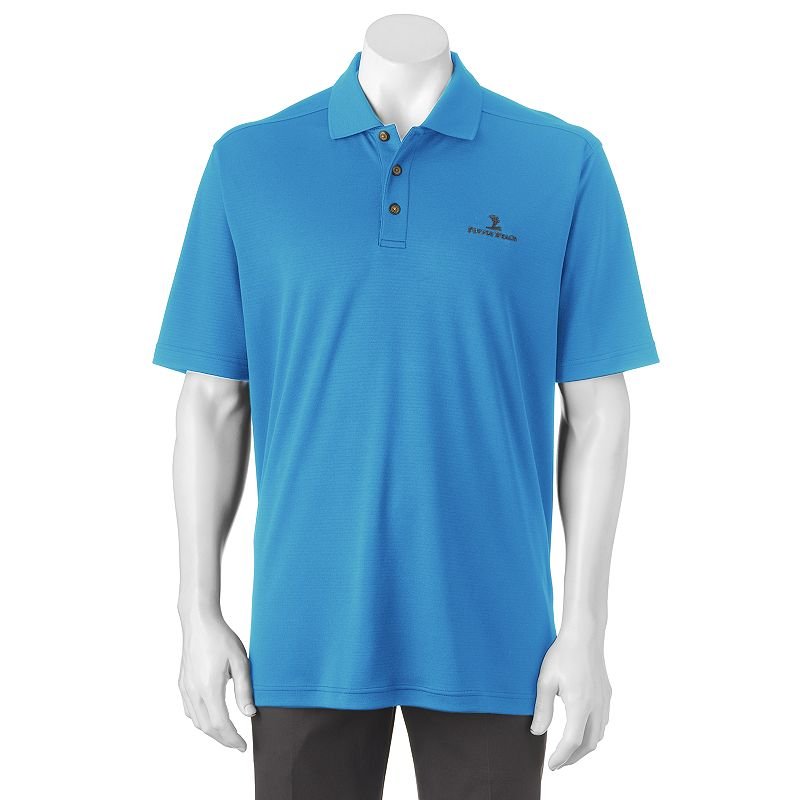 Men 39 s pebble beach classic fit textured performance golf for Pebble beach performance golf shirt
