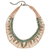 GS by gemma simone Seed Bead Spike Necklace