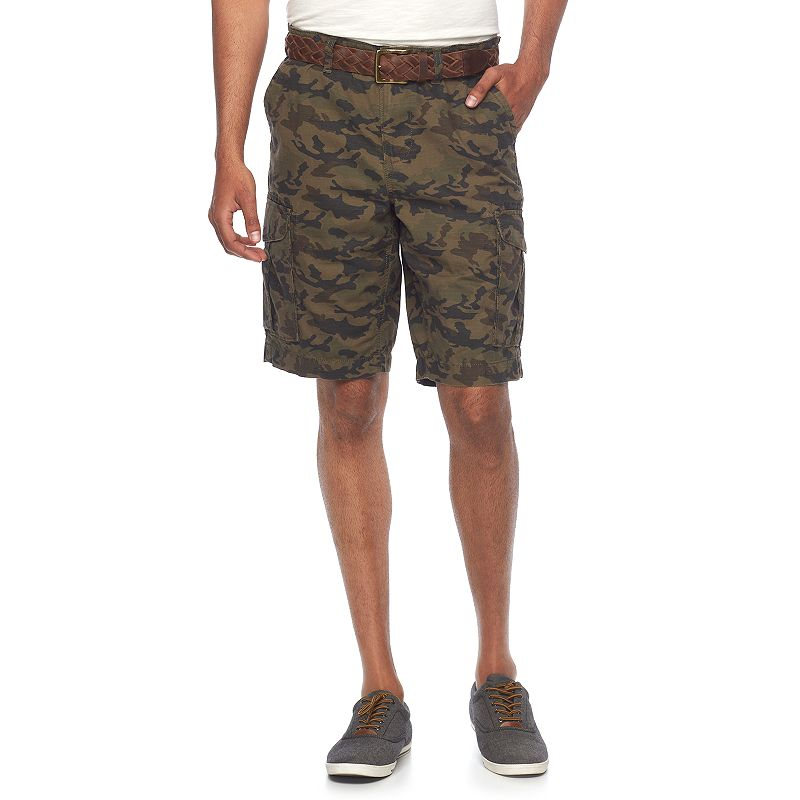 Men's SONOMA Goods for Life™ Solid Ripstop Cargo Shorts