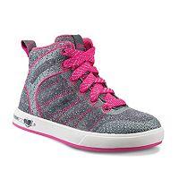 Skechers Shoutouts Glitzy Ritz Toddler Girls' High-Top Sneakers