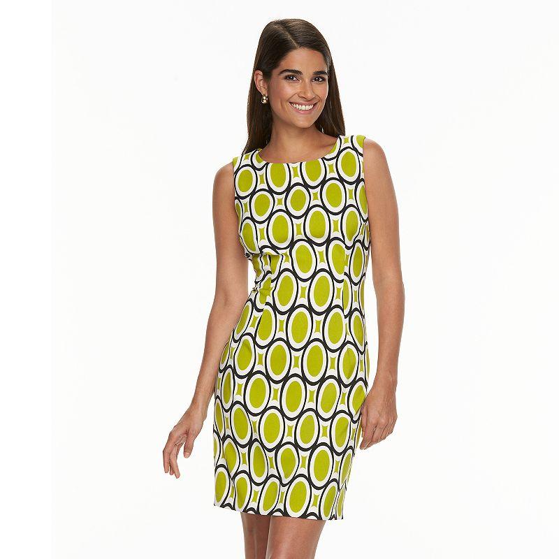 Women's Ronni Nicole Oval Print Sheath Dress